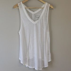 We the Free V Neck Tank Top